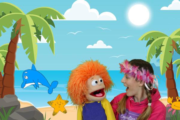 Enchantica's Academy Beatie goes to the Beach