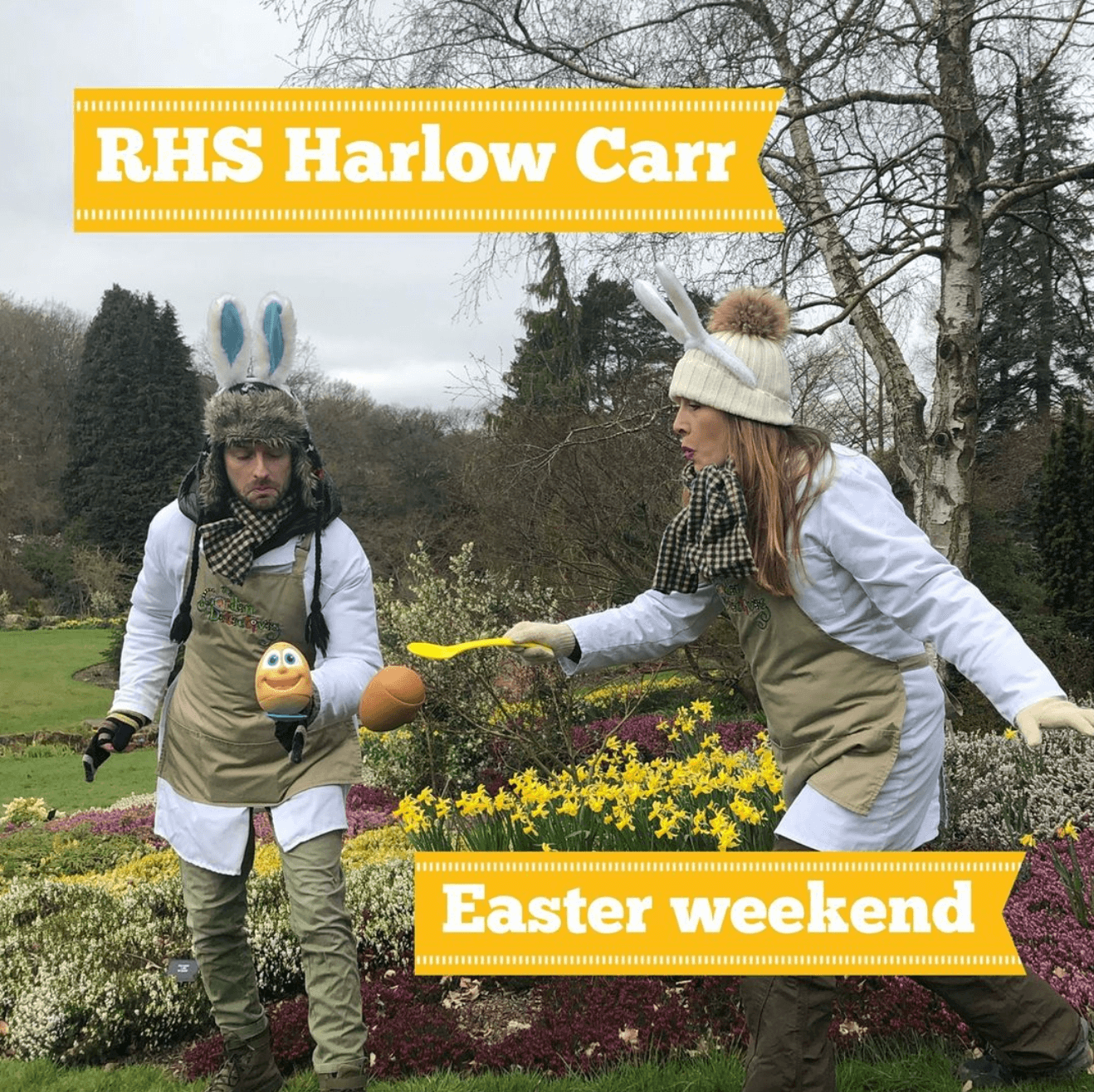 Harlow Carr Easter 2021