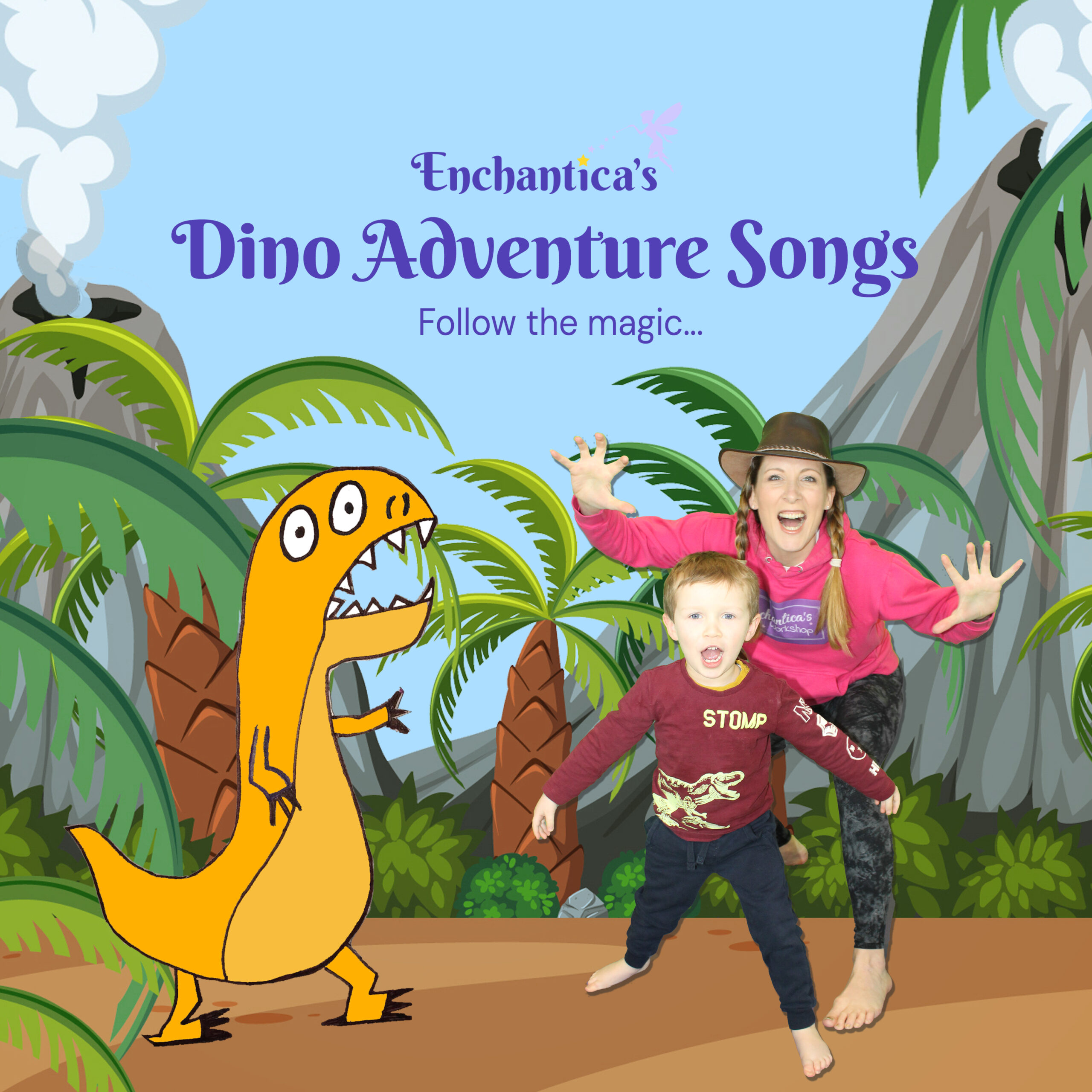 Enchantica's Dino Adventure Songs